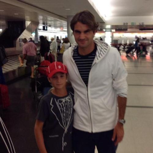 A new pic of Roger in some airport. Some people on FB think it could be in Italy