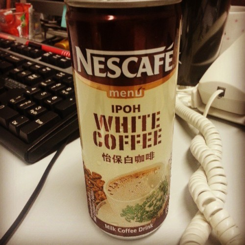 Lets go! #Nescafe #WhiteCoffee #Coffee #MondayBlues #Singapore #Yummy #OldTownWhiteCoffee #DailyNeed