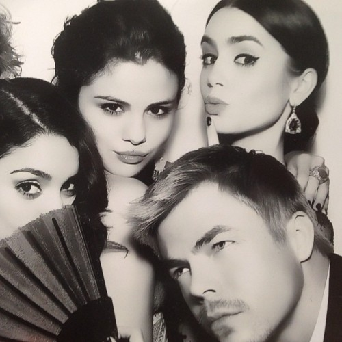 @derekhough: 'Good times with @vanessahudgens @selenagomez @lillycollins Last night'