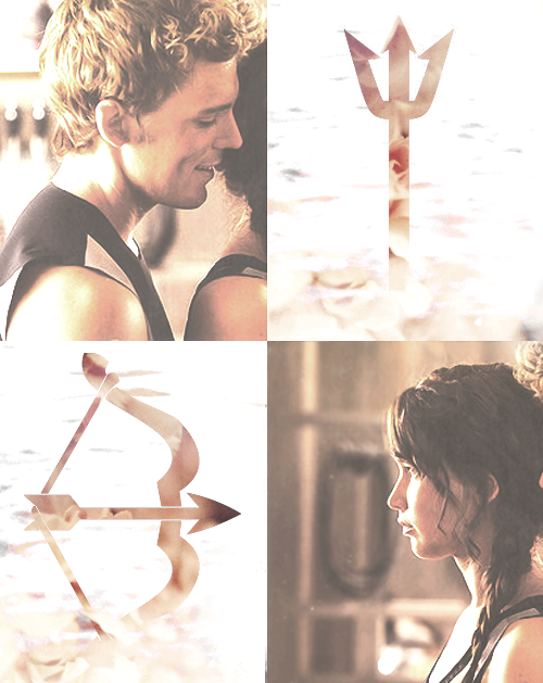 In many ways, Finnick and Katniss are a lot alike. They both care deeply for a fellow victor and feel like they have to protect them. They both won their own Games handily, and they're both excellent fighters. If anything, Finnick is even more selfless than Katniss. He serves the revolution. He knew the story going into the arena and was ready to die in order to save Katniss' life