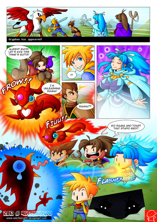 Golden Sun comic