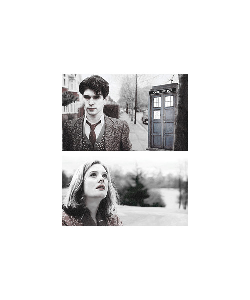 lyonsheart:  doctor who au » ben whishaw as the twelfth doctor and romola garai as the companion