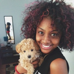 justineskye:  THE CUTEST DOG EVER IN HISTORY! 😊 My heart melted