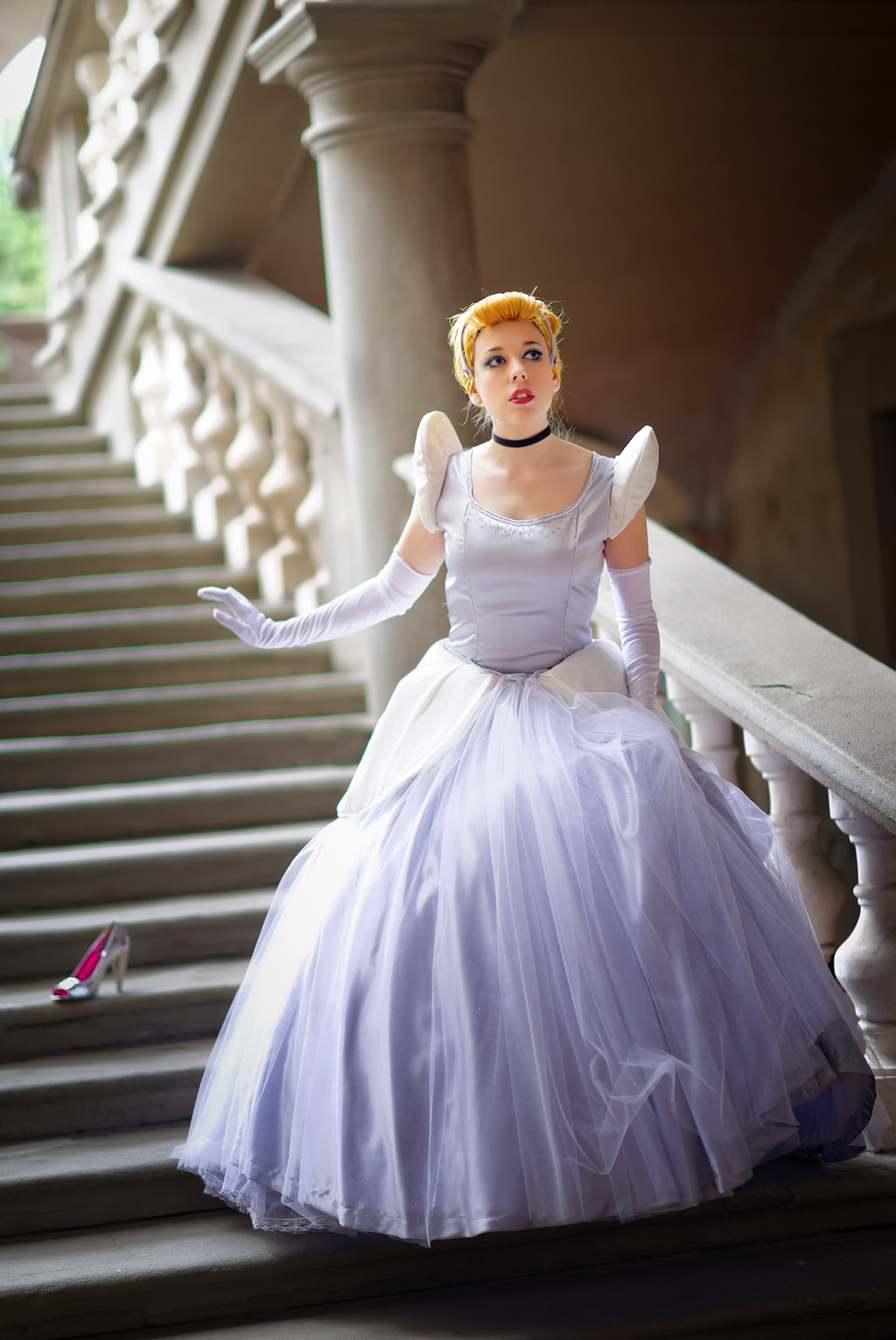 disneycosplayftw:  Cinderella by ~LadyGiselle Photo by Sandman-AC