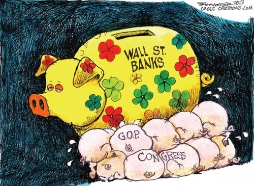 Bill Schorr: Wall St. Banks