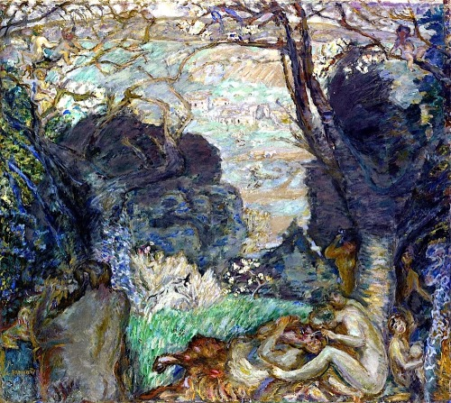bofransson:  The Fauns Pierre Bonnard - 1905-1910  Another of Mallarmé's dreams…