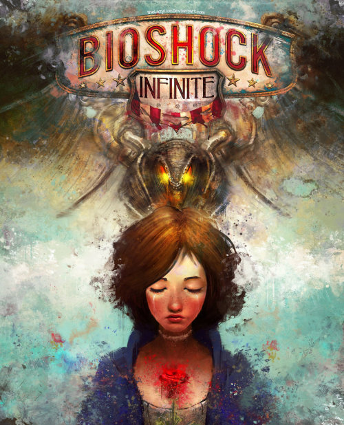 futsin:  Bioshock Infinite Alternate Cover by ~theLazyLion