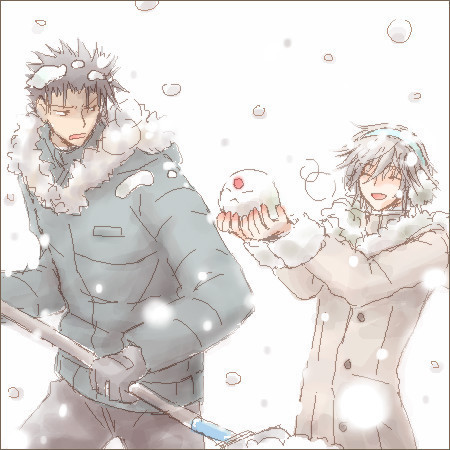 asilieunderneath:  I missed all the winter yaoi posts!!!! DX