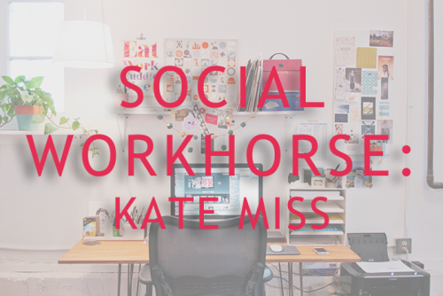 A new feature on the site. Social Workhorse focuses on businesses who have used social media to build their business. My first spotlight is with Kate Miss of For Me, For You.