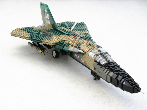 F-111A Aardvark (by Mad physicist)