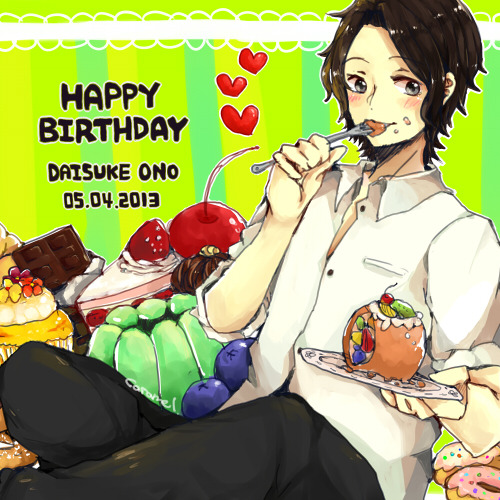 caramelcandys:  Happy Birthday オノD ♥♥