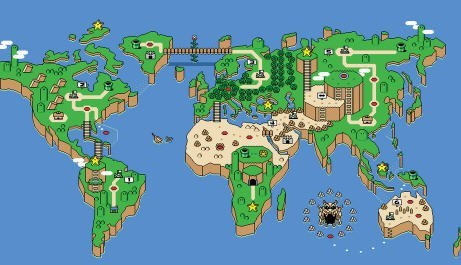The world as Mario and Luigi see it.