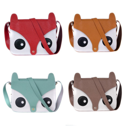 shop-cute:  Owl Messenger Bag (Choose Color) $15.00 Use the code PASTELCUTIE at checkout for 10% off!