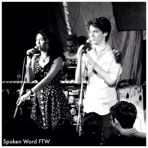 Star struck. #spokenword #sarahkay #philkaye #singapore @klbeasley @hambino  (at Home Club)