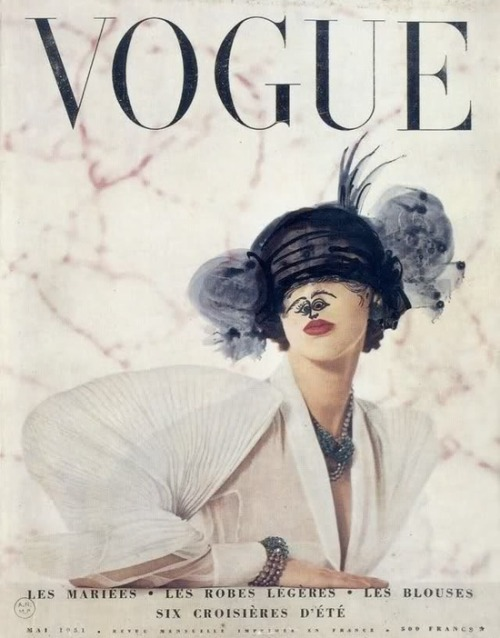 Marcel Duchamp. Vogue Paris, May 1951.