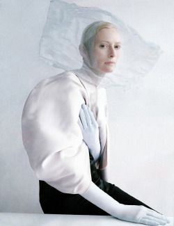 thedoppelganger:  Magazine: W May 2013Photographer: Tim WalkerModel: Tilda Swinton