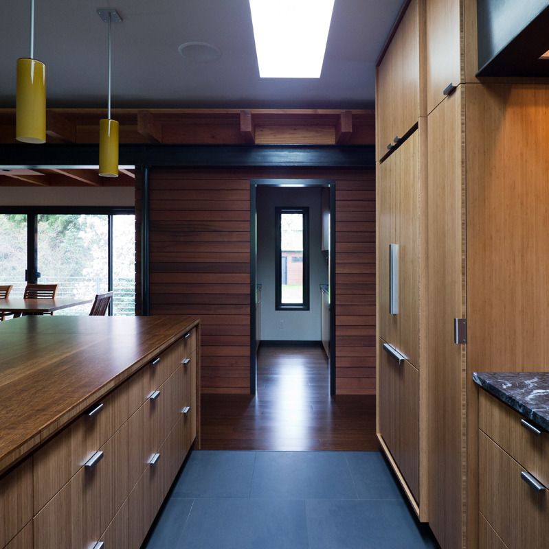 wabi treehouse | kitchen to pantry ~ erich remash architect