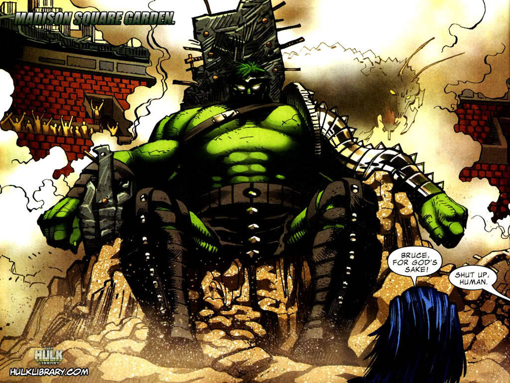 Is The Most Requested Hulk Storyline Coming In Marvel Phase Three?  Marvel Studios never fails to surprise me with their balls. I never thought The Avengers could happen, that a bunch of standalone movies could crossover into a film, and yet they did it. I never thought we could get really cosmic villainy in a superhero movie, and yet Thanos is at bat for Marvel Phase Two. And I never thought a certain Hulk storyline would ever see movie screens, but if Latino Review's very reliable El Mayimbe is right, his future adventures will be planet-shaking.  SPOILERS AFTER THE BREAK!    According to El Mayimbe, as seen in the video above, Hulk will be sent into space at some point in The Avengers 2. He's deemed too much of a threat to keep on Earth, and so the Marvel superheroes bid him adieu. But just as happened in the comics, Hulk will end up going through a wormhole and will land on an alien planet. On that planet Hulk becomes a gladiator, rises through the ranks and eventually comes to be king. It's a big science fiction Conan-type story.  But there's more! El Mayimbe says that this Planet Hulk movie will lead into Avengers 3, which he claims will use the World War Hulk storyline - Hulk returns to Earth with his new alien allies and wages war on the heroes!  That's incredible. If it's true - and I believe that at the very least we'll be seeing Planet Hulk - it's another sign that Marvel Studios is willing to go big with their concepts and their stories. They're not playing this safe. I wonder if having the beans spilled this early will impact what happens in Avengers 3 (and there will be, without any doubt at all, an Avengers 3. After that…).   As a comic fan this sort of stuff makes me appreciate being around to see such huge stories, such crazy ideas, actually make their way to theaters. Enjoy it while it lasts.