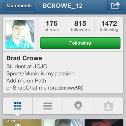 Everybody follow my 3,000th follower (: @bcrowe_12 #follow #like #share