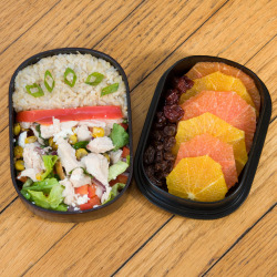 Tex-Mex Chicken Salad Bento by popartichoke on Flickr.
