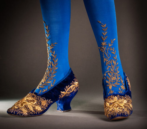 fripperiesandfobs:  Shoes ca. 1890 From the FIDM Museum  So why are people not wearing shit like this anymore?