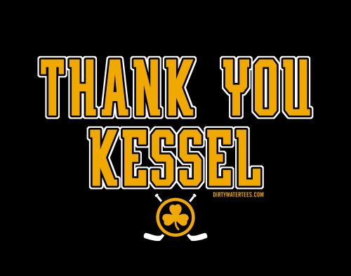 Thank You Kessel tshirts at www.dirtywatertees.com for only $12