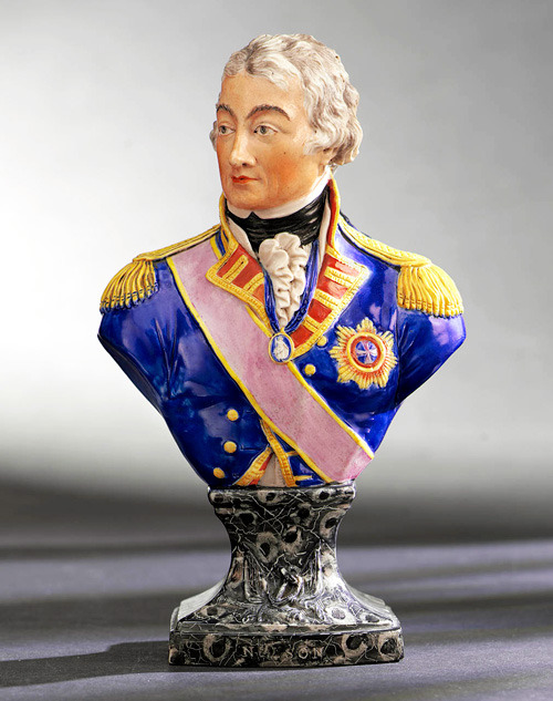 Robert Shout, Bust of Vice-Admiral Horatio Nelson, 1798