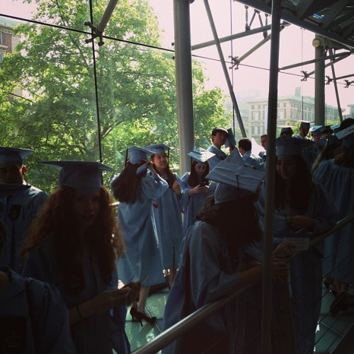 @kristinejlu spotting at #columbia #ccclassday  (at Lerner Hall - Columbia University)