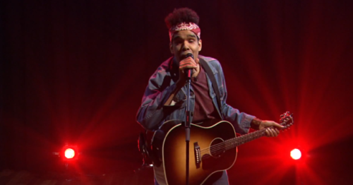 (via Video: Songwriter shares his not so original songs on Jimmy Fallon) Jimmy Fallon welcomed songwriter 'Johnny Miles Biter' on the show to share some of his deeply personal and original songs. However, each song ends up hilariously devolving into Smash Mouth. WATCH HERE