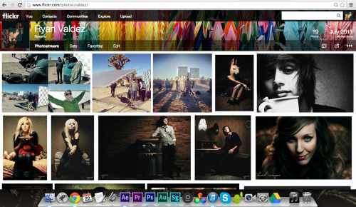 Whoa! When did Flickr change?! Not sure if I like the new UI…or do I? I think I like it…
