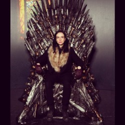 I am the Queen! Yes, that's the THRONE in NYC
