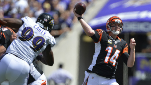 Andy Dalton is a bargain as the 14th-most expensive FanDuel QB. (USATSI)