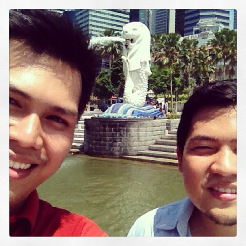 Another Merly. 😍 #infairnessmainit #sg #instasg #merlion (at The Merlion)