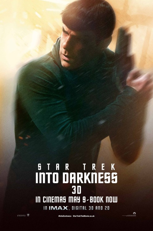 spock-into-darkness:  new Spock poster