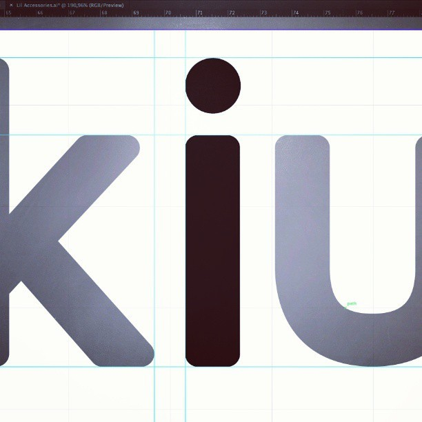 Dot the I. / #branding #design at @pixelgdesign / #WIP #logo #lettering #screenshot #project #studio #bukiu #comesoon #workoftheday #designattack #hubcreative  (presso WebPaté)