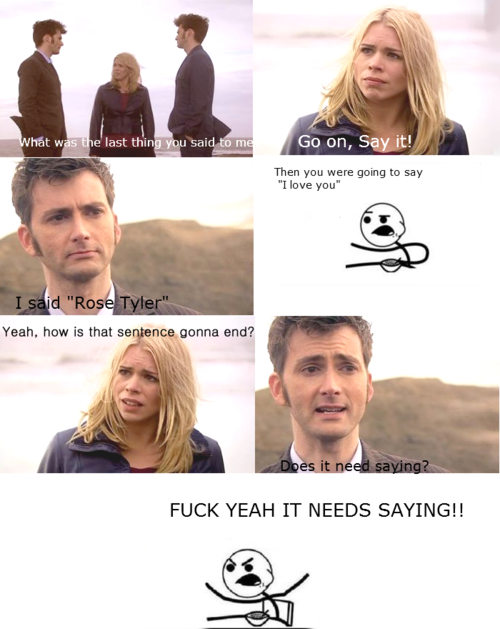 "Cereal Guy - I said ""Rose Tyler"""