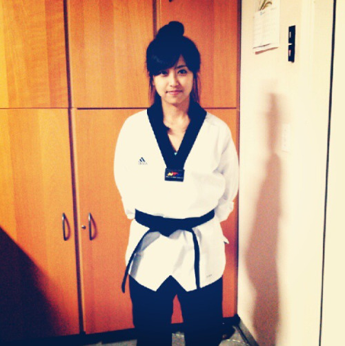 My full black belt uniform, finally! ^^