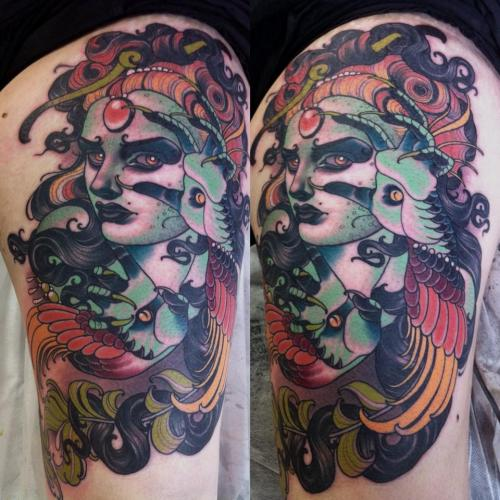 tattoosforpassionnotfashion:  done by emily rose murray