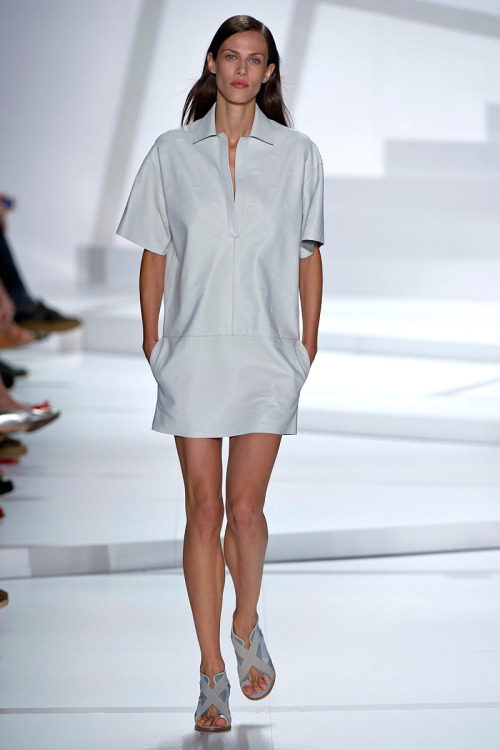 models-on-the-runway:  lacoste s/s 2013
