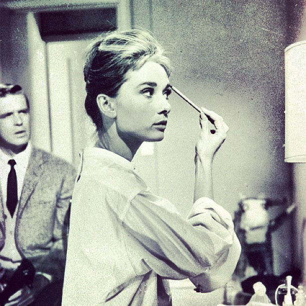 #audreyhepburn #audreyeverlasting #amazing #beauty #beautiful #classy #classic #fashion #glamour #gorgeous #hair #hollywood #instalove #love #makeup #oldhollywood #pretty #rare #style #stunning #tumblr #vintage
