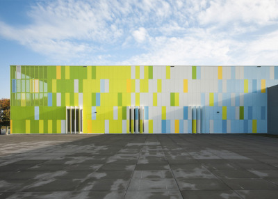 De Rietlanden Sports Hall (via De Rietlanden Sports Hall by Slangen Koenis Architects)