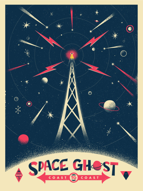 """Space Ghost Cosmic"" by Chris DeLorenzo"