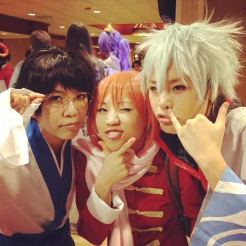 rockets:  cosplayed Gintoki today :D posing has never been this easy