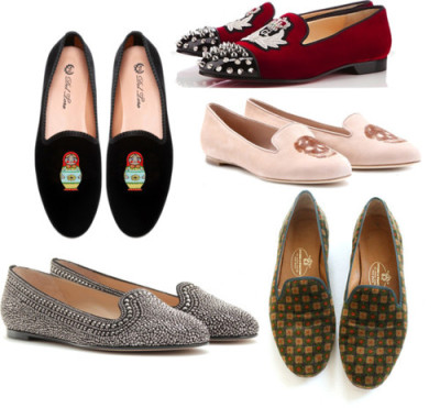 Slipper-style Loafers by mariandreacasco featuring sequin shoes