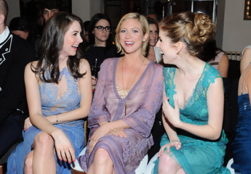 Alison Brie, Anna Kendrick, Brittany Snow - Ferretti And Vogue Limited Edition Collection 2013 Fashion Show And Dinner - Jan 10, 2013