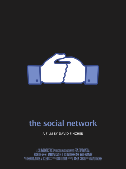 fuckyeahmovieposters:  The Social Network by Vincent Gabriele