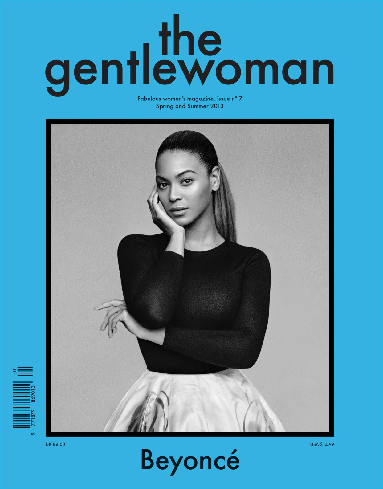 maisonmartinmargielous:  Beyonce for The Gentlewoman Spring/Summer 2013 shot by Alasdair McLellan