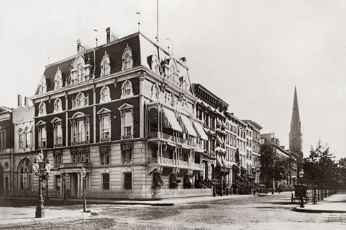 Jerome mansion once home to Jockey Club circa 1878.