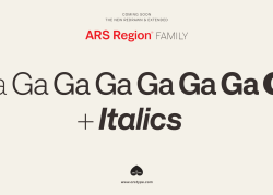 Coming soon, the new redrawn & extended ARS Region family.