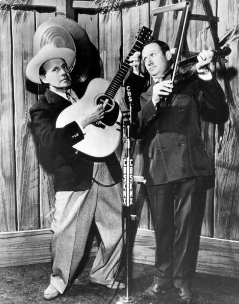 Jack Benny and Gene Autry